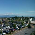 La vue sur le parc aquatique