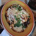 Rib enchiladas