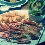 Langoustines at Whigham's! Delicious!