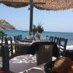 Spilia Mykonos seaside restaurant