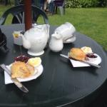 Just to show you that the cream teas did actually exist