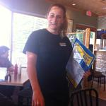 Jen ...our amazing waiter was so efficient and lovely