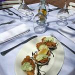 Fried Oysters. Sauce Gribiche.