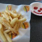Hot, delicious french fries