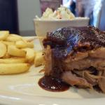 Pulled Pork with Steak Fries