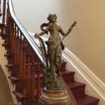 Décor cage d'escalier