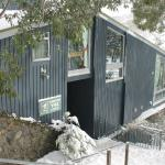 Hostel in the snow
