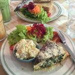 Quiche of the day: spinach
