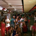 Evening cruise fun