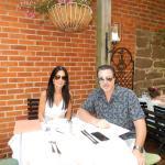 ROSARIO CASSATA AND CAROLYN CASSATA AT SANT AMBROOEUS