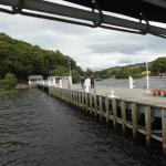 The Pier at Pooley Bridge for the Steamer Boats