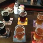 Flight- pick from any 6 of the 18, or you can sample them all