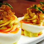 Chesapeake Deviled Eggs [deviled eggs change seasonally]