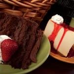 Dessert, Chocolate Mousse Cake & New York Cheese Cake