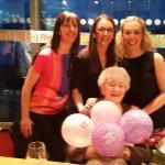 Mum's 90th birthday.