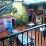 Gran patio interno