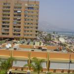foto echa desde el balcon de la habitacion
