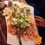 Salade crudité ! Très bonne ^^