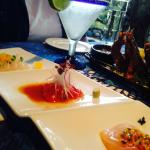 My favorite Sashimi platter appetizer.