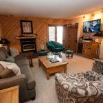 Living area with queen sofa sleeper