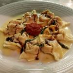 Butternut Squash ravioli with Balsamic