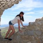 In der Burgruine