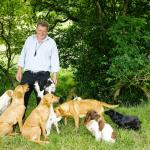 Jack with his Cuckavalda Gundogs. You may like to take one for a walk