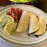 Jennifer Combo Burrito, a smothered burrito - two Cheese Enchiladas ($1 extra to add meet) - thr