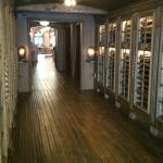 New hallway to the Bar