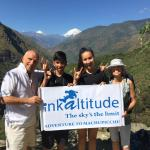Inka altitude - happy people with our service.