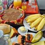 Breakfast/ café da manhã
