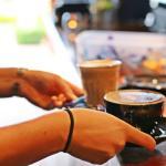 Espresso coffee and loose leaf tea...