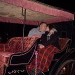Honeymoon kiss!