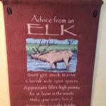 Elk wisdom