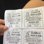 Tickets. Self-guided your $200 pesos each person.