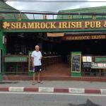Entrance to the Shamrock