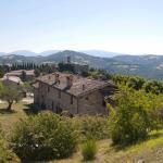 Panoramica agriturismo a Gubbio