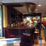 The new bar area!