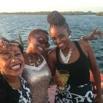 The German girls really enjoyed their first dhow trip