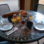 Le petit déjeuner copieux