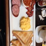 Petit déjeuner a l'anglaise