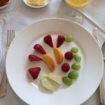 Breakfast - fresh fruits