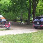Our campsite - family