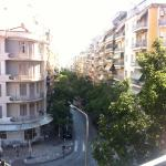 Aussicht vom Balkon (3. Stock)
