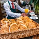 Pastries for breakfast or with a coffee throughout the afternoon