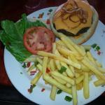 One of the best burgers on the island!