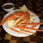 Crab legs at the Wind Creek buffet!! So Good!!