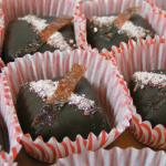 Dark Chocolate Rhubarb Caramel