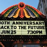 The Genesee Theatre celebrates the 30th anniversary of Back to the Future.