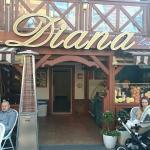 Diana, Kawiarnia